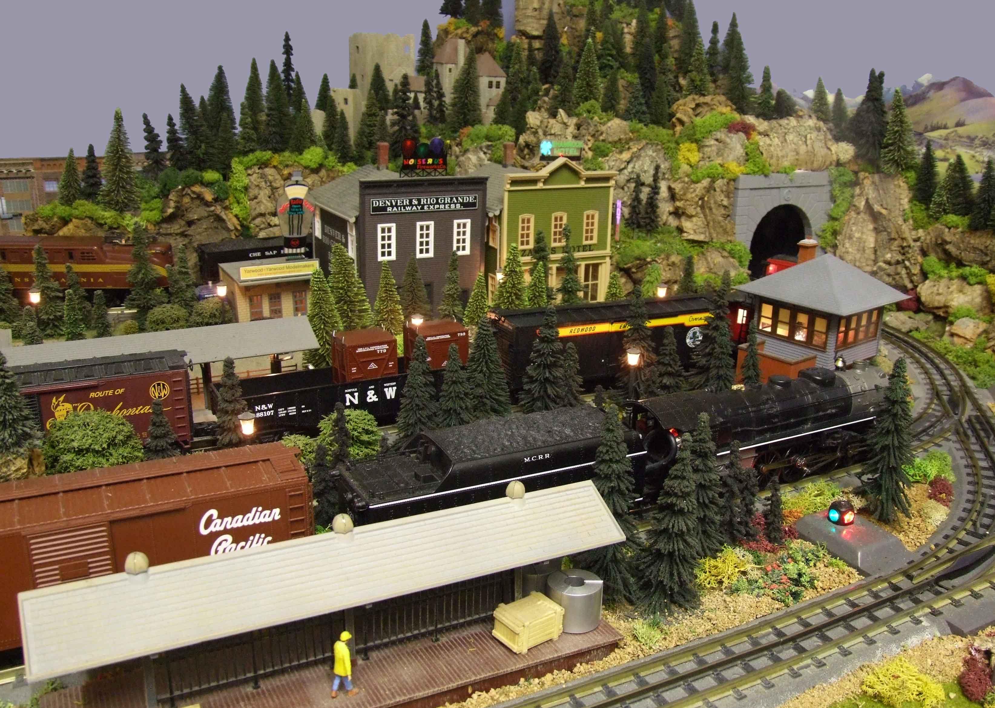 uk toy train layout - Classic Toy Trains Magazine