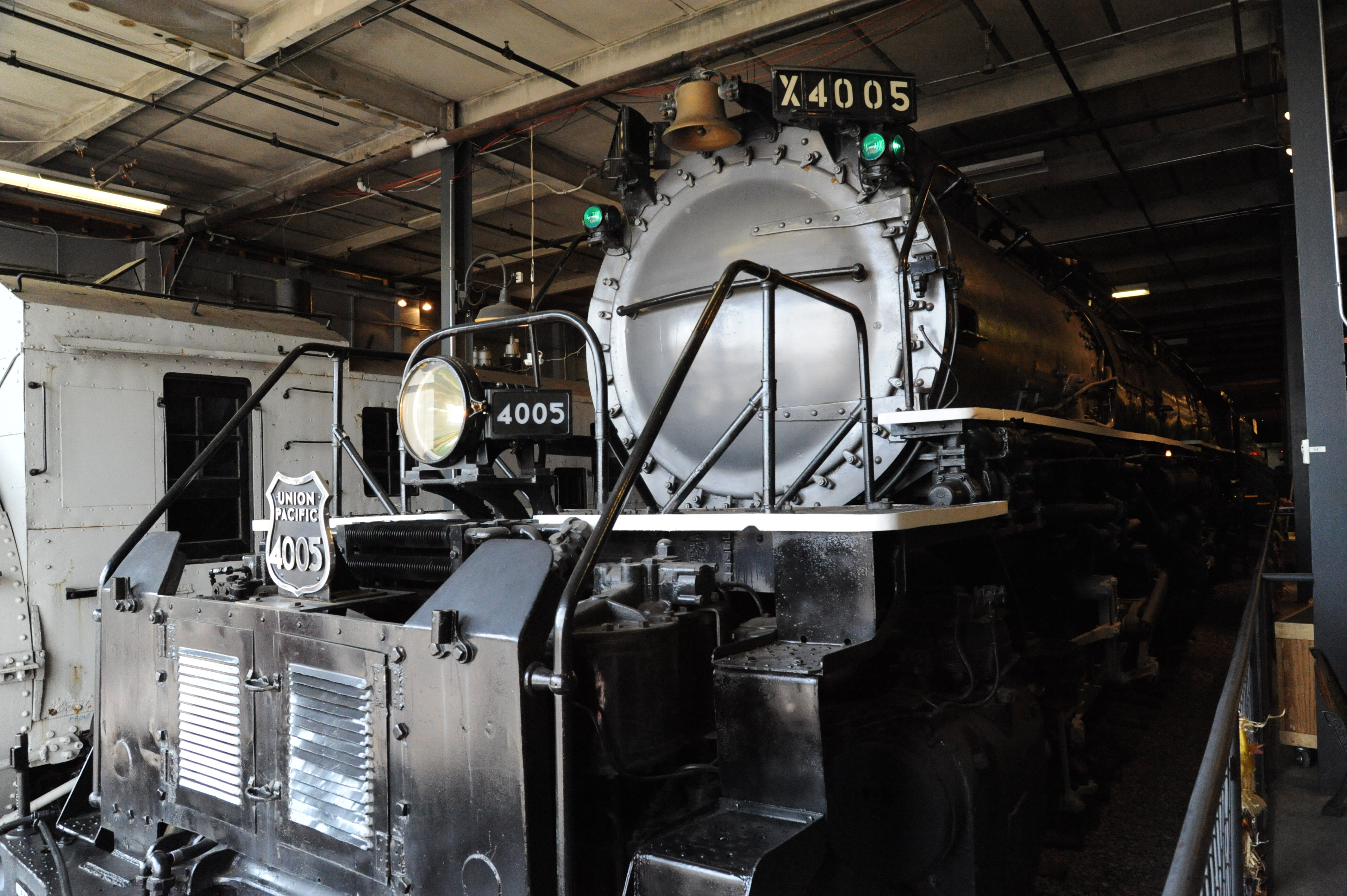a visit to the land of the union pacific big boys trains magazine trains news wire railroad. Black Bedroom Furniture Sets. Home Design Ideas