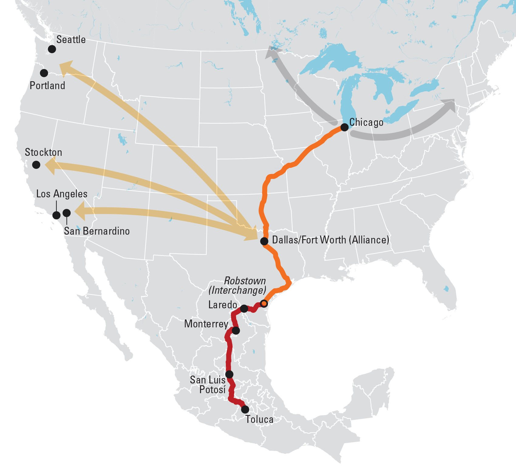 The Next New Thing Trains Magazine Trains News Wire Railroad - Bnsf railway us map