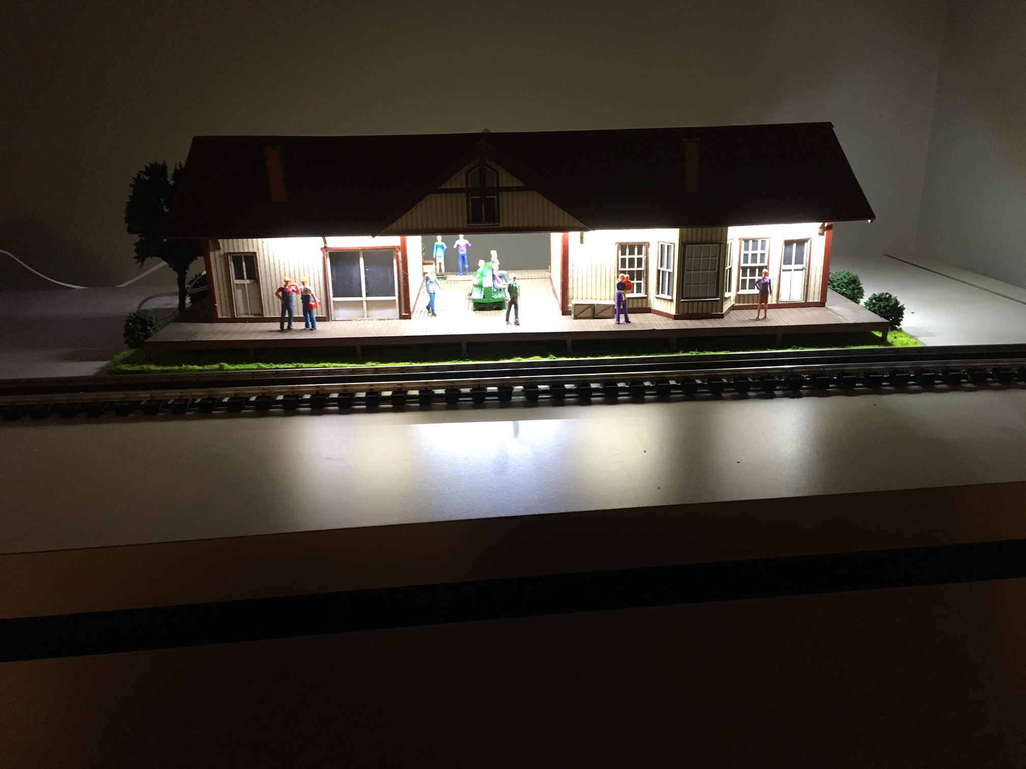 The New Red Owl Grocery And Train Station From Menards