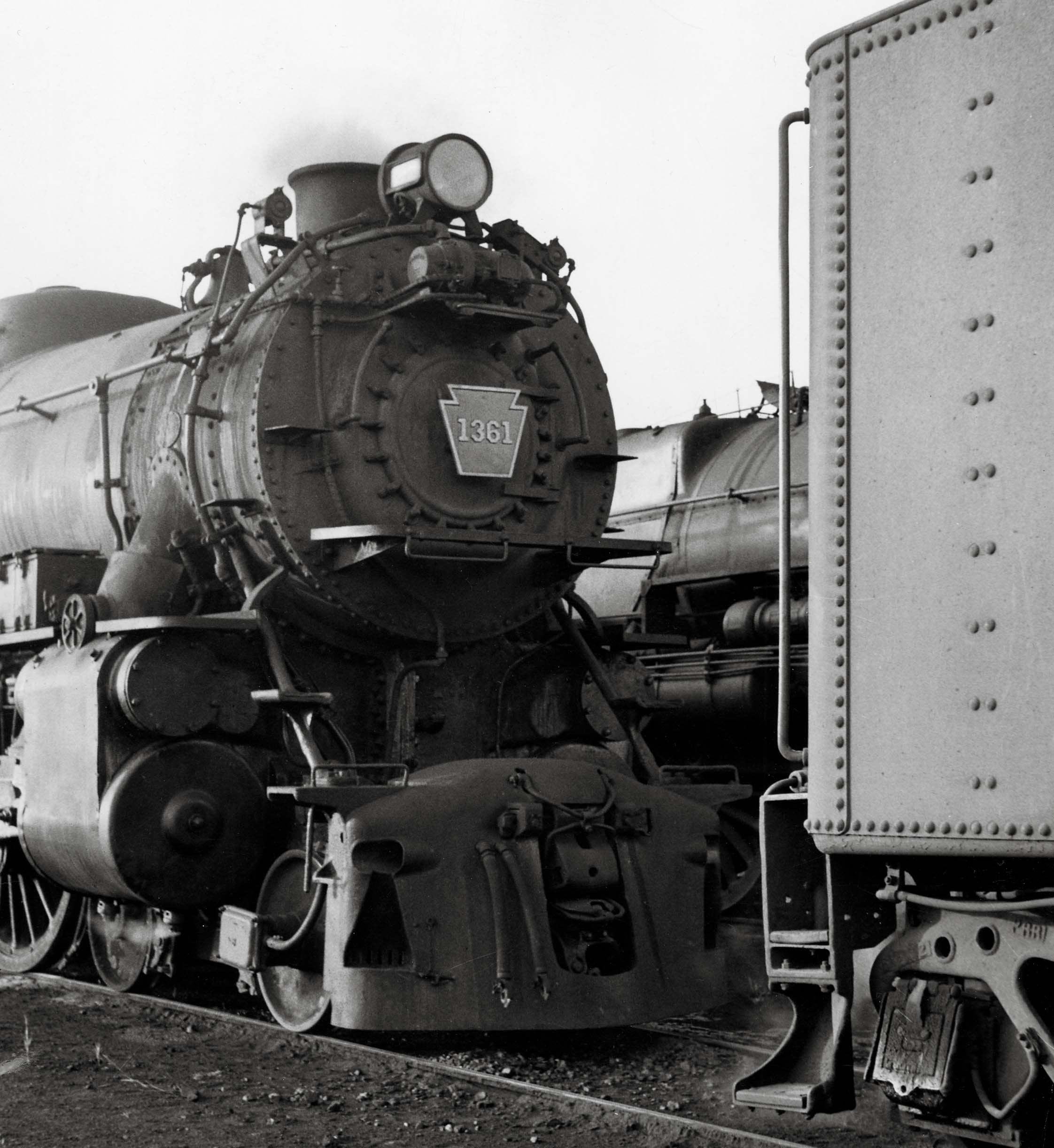 1361 was just another K4 when noted photographer Philip R. Hastings found  her in the company of two sisters at Bay Head Junction, N.J., in 1955.