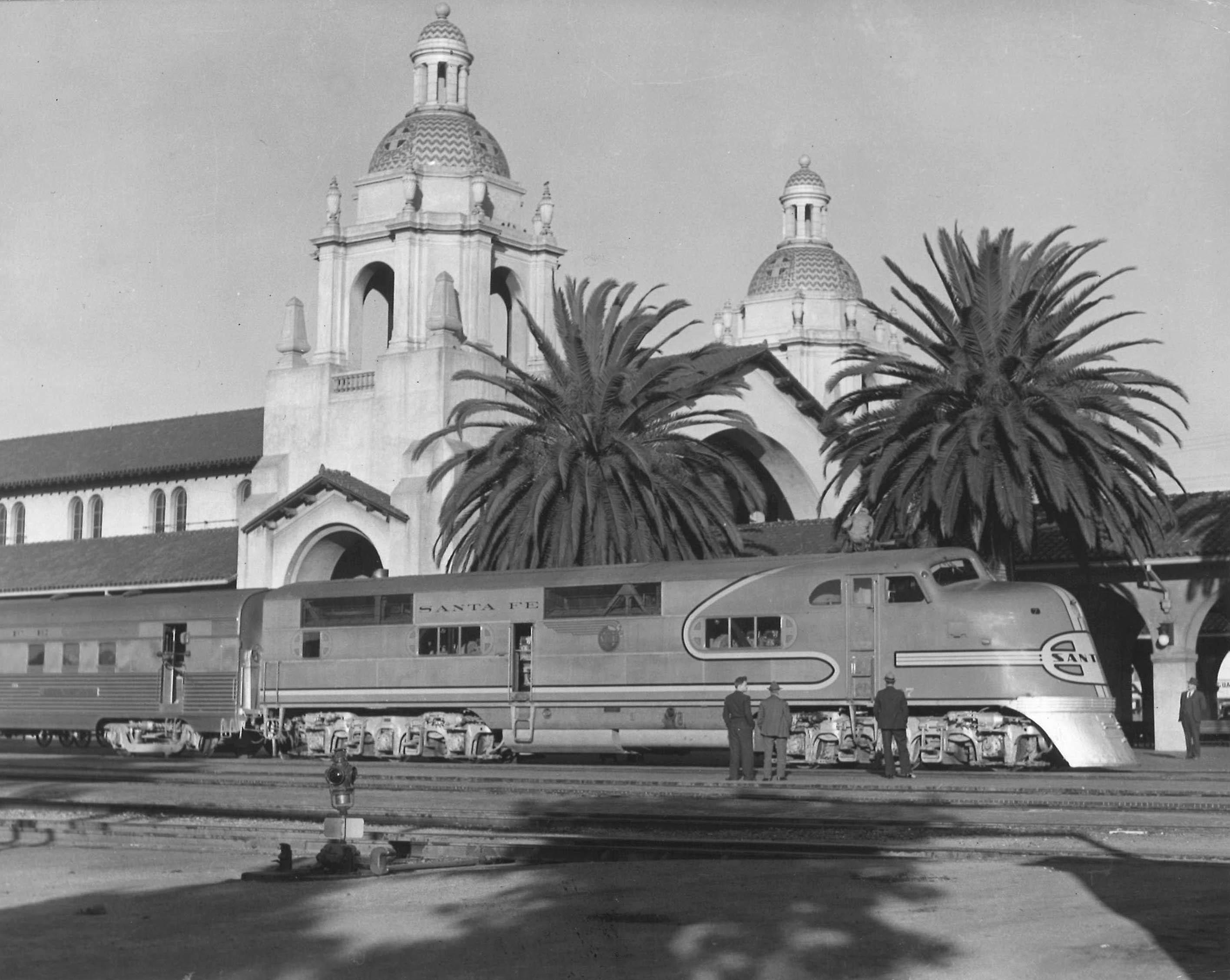 A Reverie At San Diego S Santa Fe Depot Classic Trains Magazine Railroad History Vintage Train Videos Steam Locomotives Forums