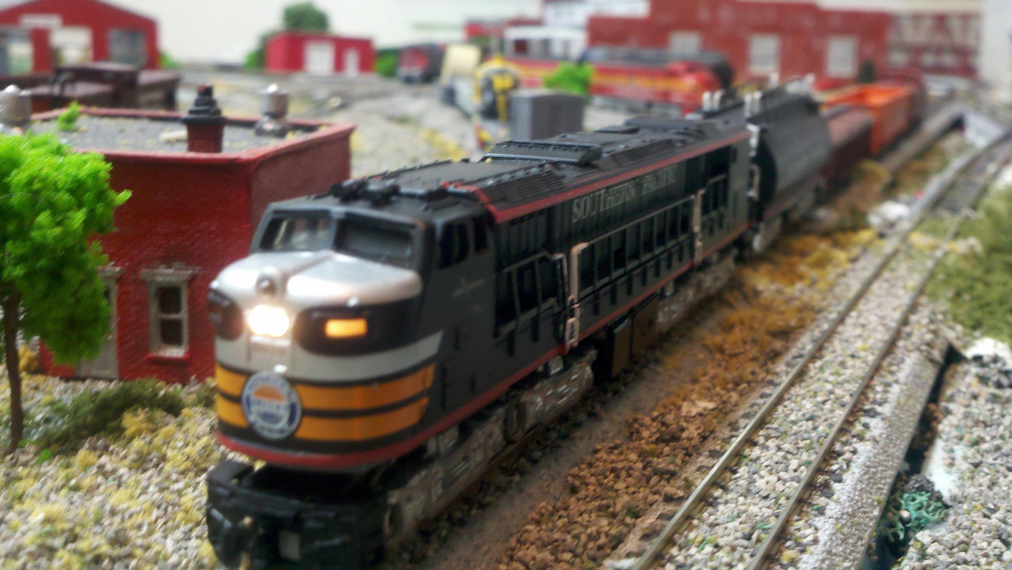 Southern Pacific Gas Turbine Model Railroader Magazine Model