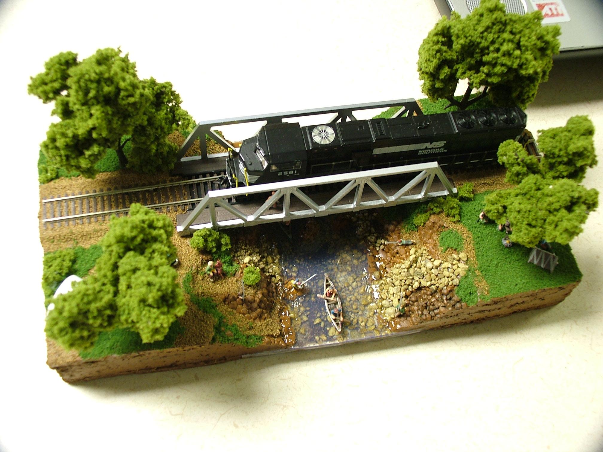 N Scale Diorama - Model Railroader Magazine - Model