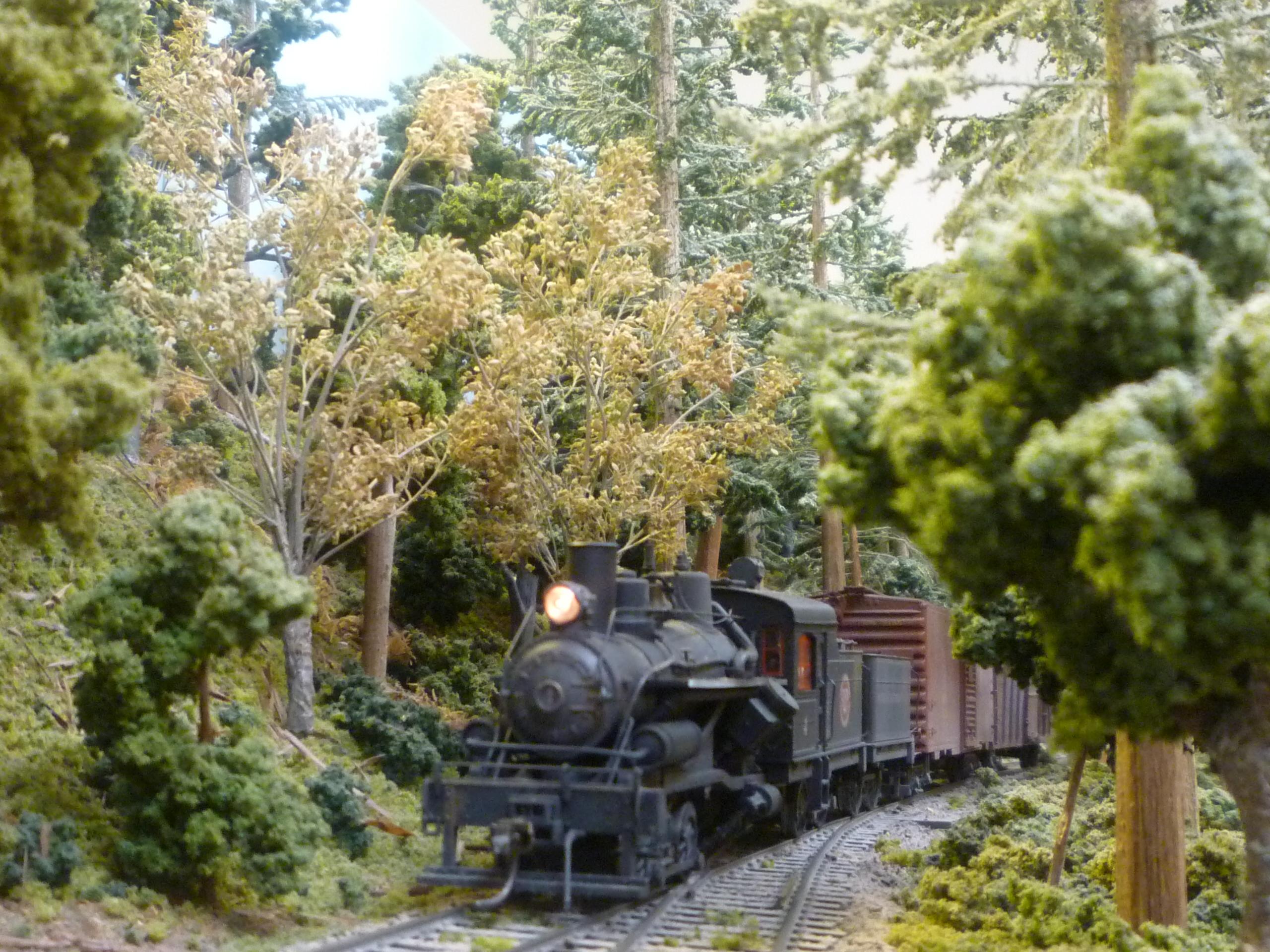ho Scale Heisler Locomotive Rivarossi ho Scale Heisler