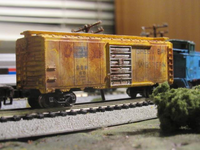 N Scale GBW Boxcar - Model Railroader Magazine - Model