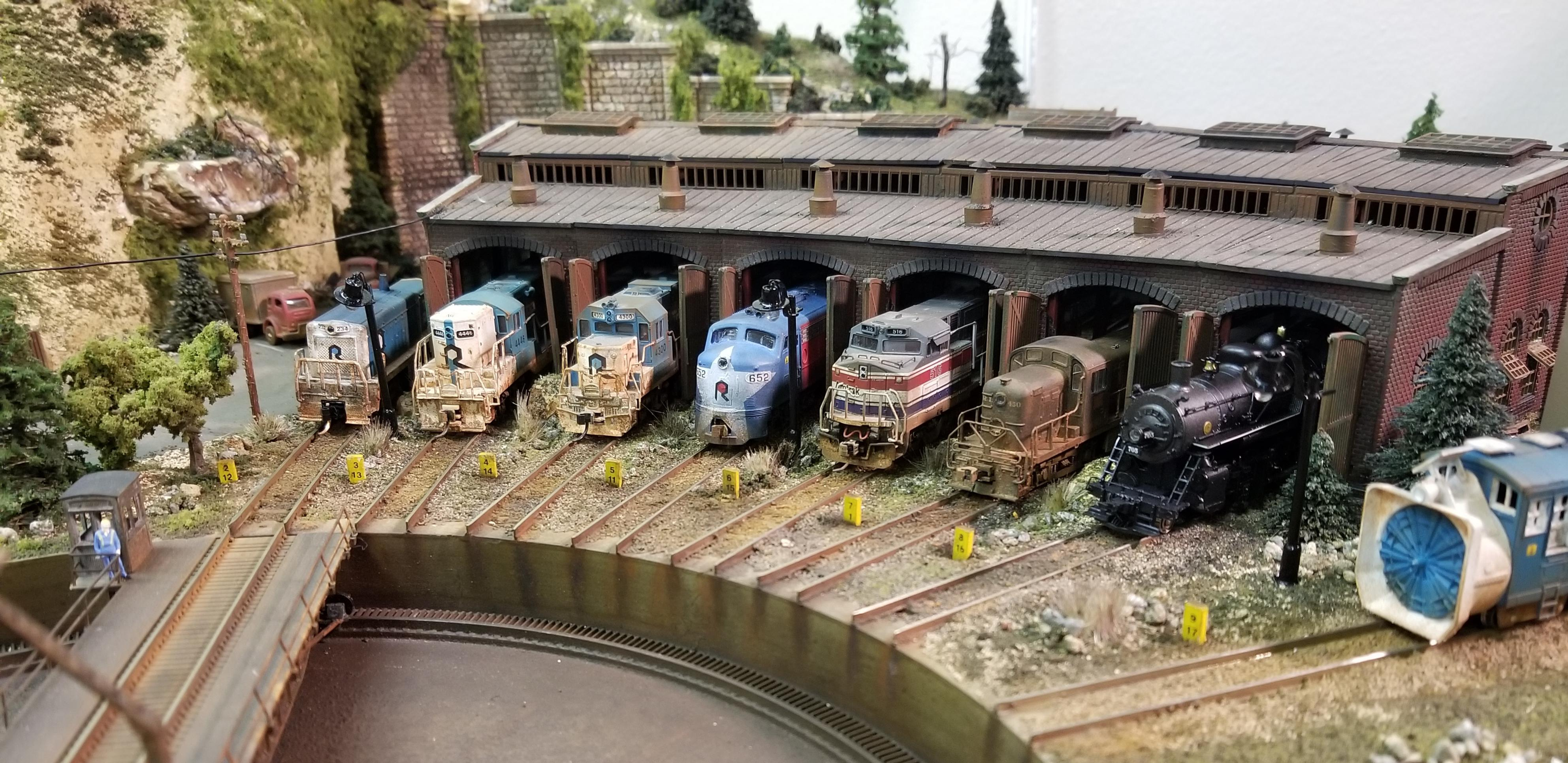 N Scale Fleet - Model Railroader Magazine - Model