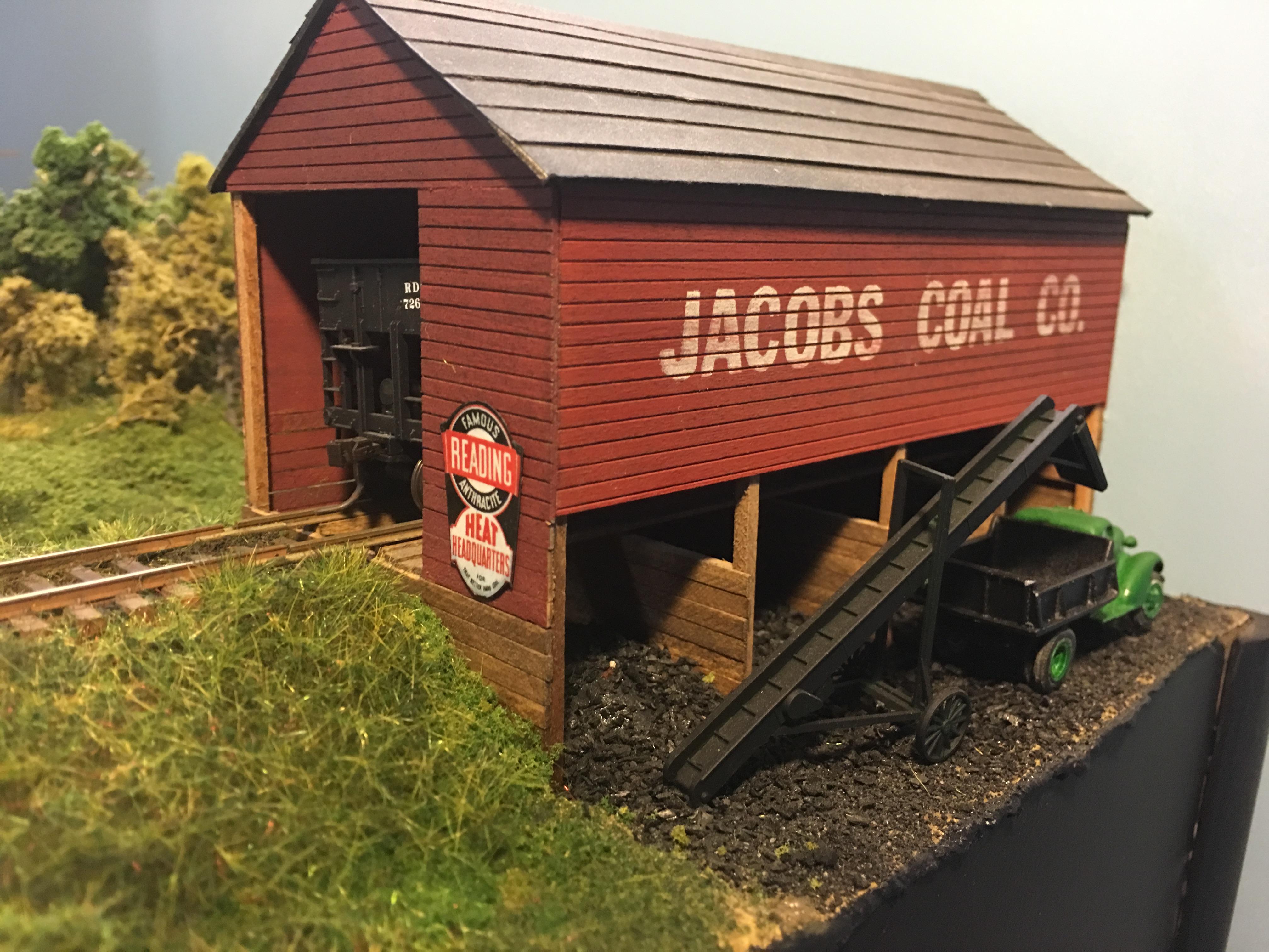 Jacobs Coal Lenape Pa Model Railroader Magazine Model