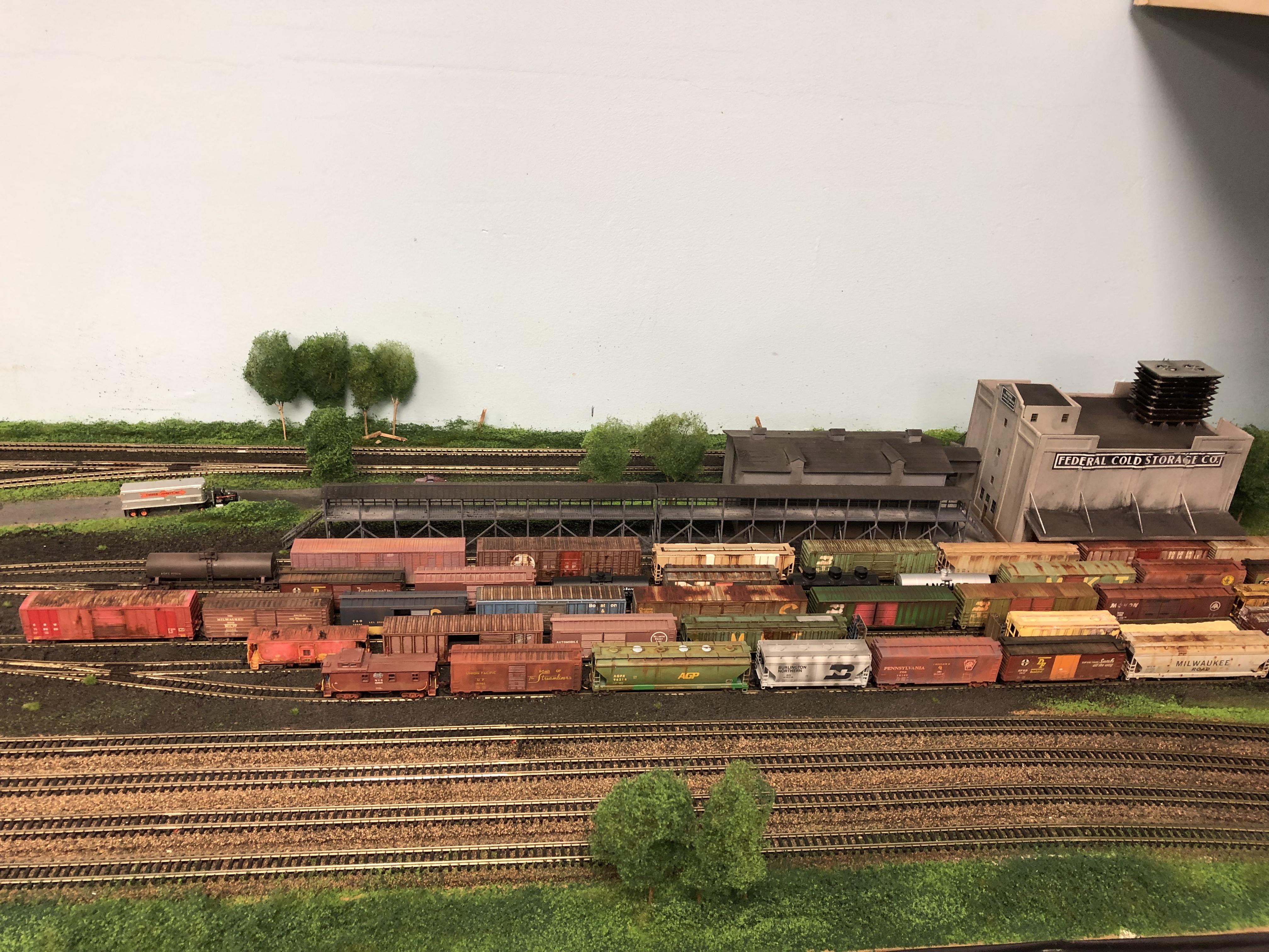 West Pasco Model Railroad Association N Scale Yard in Fargo