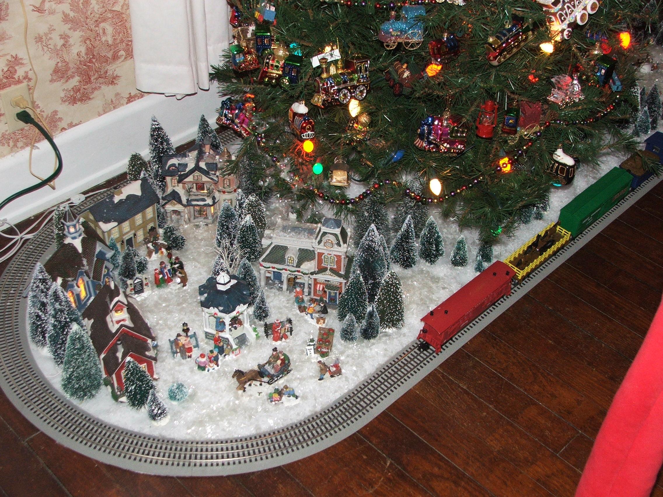Christmas Train Tree 2012, #2