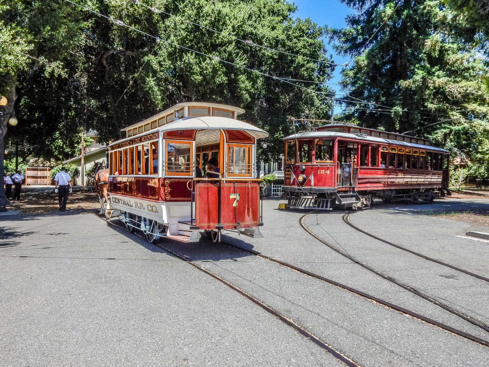 Central Rr 7 And San Jose Railroads 124 Trains Magazine