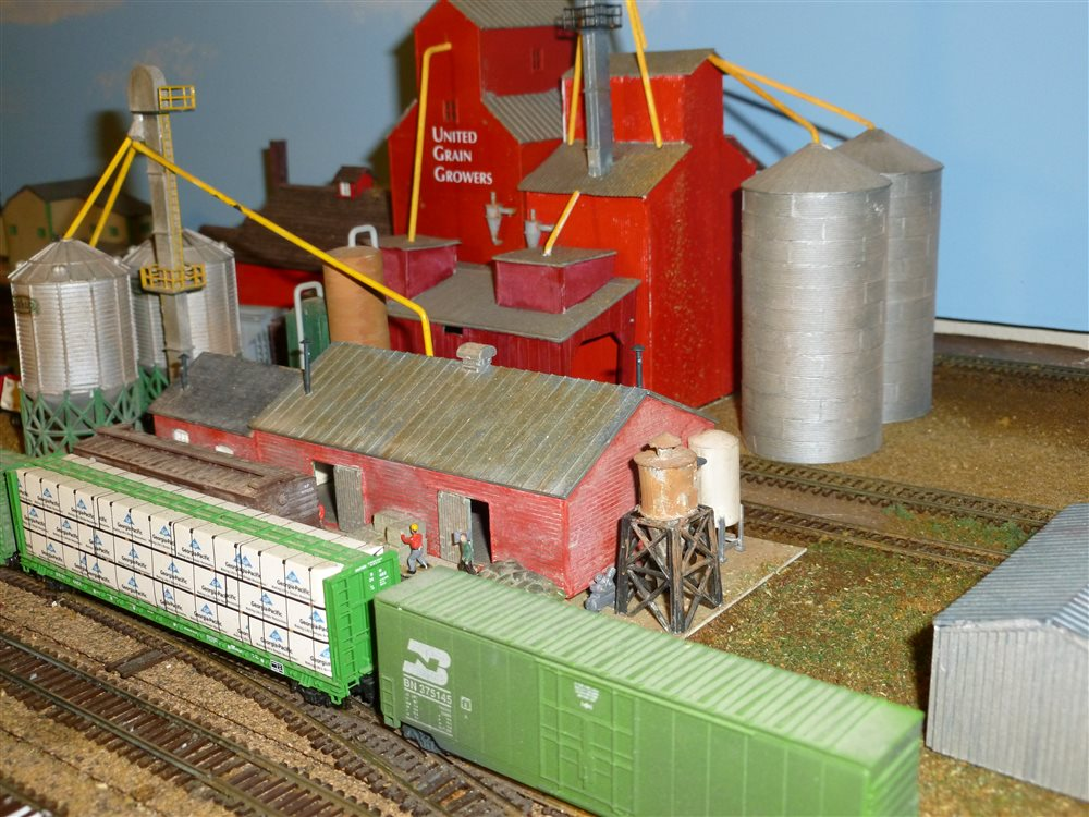 Another View Of My Grain Elevator Model Railroader