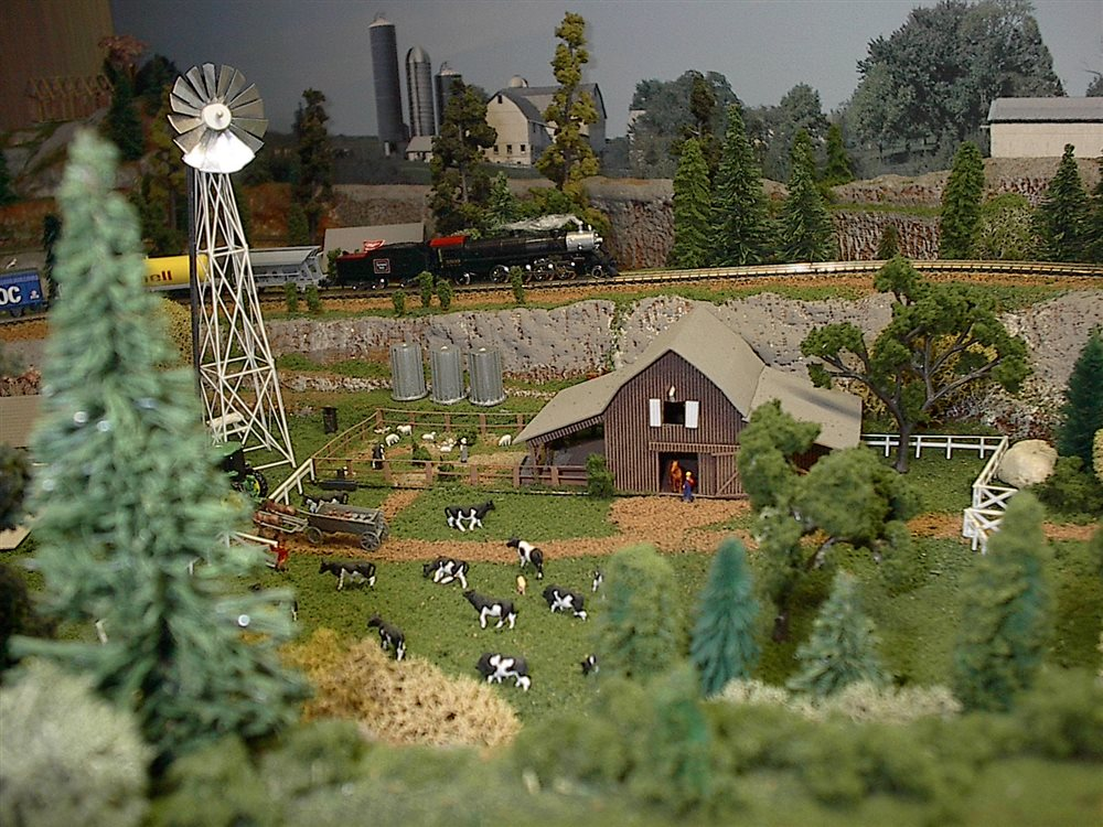 On the farm model railroader magazine model for Hobby farm plans