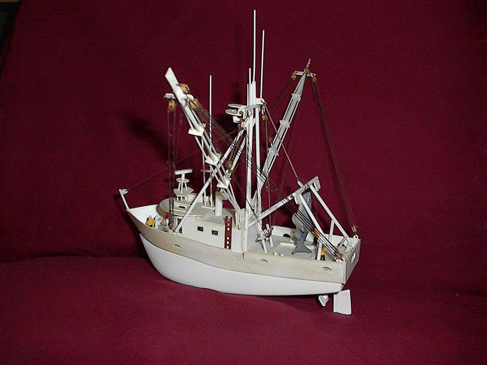 Shrimp Boat in Jacksonville, Fl. - Model Railroader ...