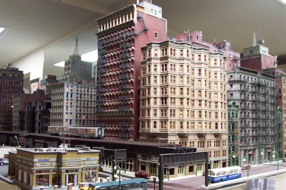 The City Edge Layout Model Railroader Magazine Model