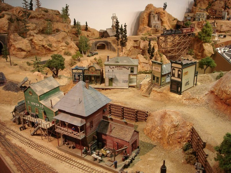 Mining Town Model Railroader Magazine Model