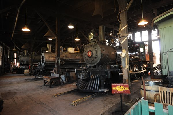 A Visit To A California Roundhouse Is There A More