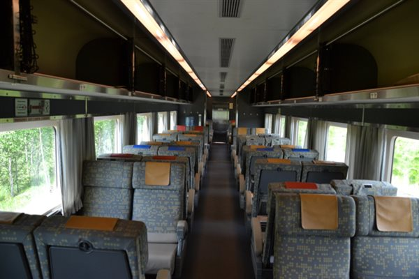 budds through the bush a sojourn on via rail in northern ontario trains magazine trains. Black Bedroom Furniture Sets. Home Design Ideas