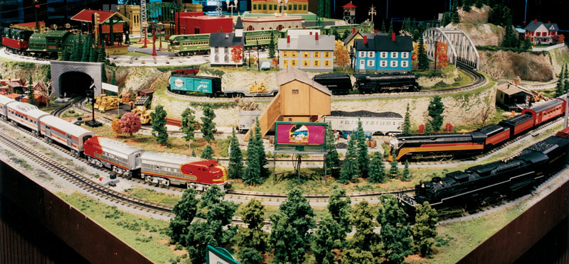 Rick Klein S Mth Showroom Layout Classic Toy Trains Magazine
